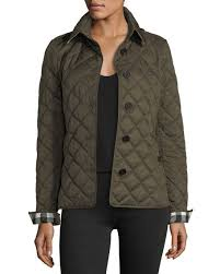 Trendy Quilted Jackets, Coats For Women For Winter 2018! | Candace ... & Burberry Frankby Quilted Jacket, Dark Olive quilted jackets women winter  2018 Adamdwight.com