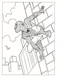 superhero coloring pages for kids beautiful spiderman coloring page for free print of superhero coloring pages