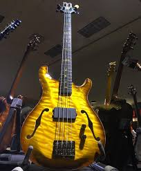 a prs private stock short scale hollow bass prsguitars namm2017 bassgram