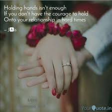 Holding Hands Isnt Enoug Quotes Writings By Jaskirat Kaur
