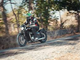 triumph bonneville bobber road test review zigwheels