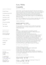 Volunteer Resume Template Pic Counsellor Template 1 Volunteer Resume ...
