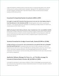 Examples Of 2 Page Resumes Custom 48 Page Resume Template Fresh Example Job Resume Awesome Examples