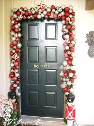 Exterior Door Decorating Similiar Christmas Decorations Around Door Keywords