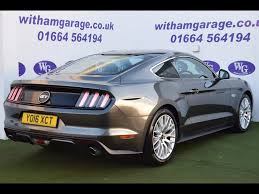 ... Used Ford Mustang 5.0 V8 GT (Custom Pack) Man Fastback For Sale In  Melton