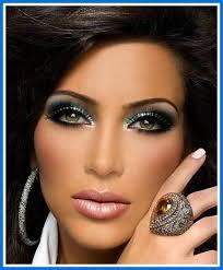 dramatic eye makeup for dark skin