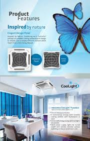 Cool Light Daikins New Ceiling Mounted Air Conditioner