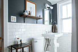 Dark Color Bathroom Designs Best Paint Colors For Small Bathrooms Apartment Therapy