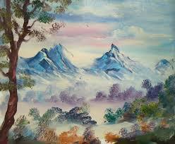 mini oil painting landscapes