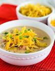 accidental hearty nacho soup