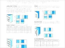 4 Panel Brochure Template Fold Brochure Template Roll 5 Panel Brochure Template 8