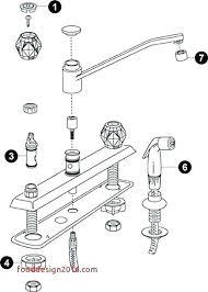 faucet diagram sink faucet parts diagram single handle kitchen faucet repair luxury kitchen sink faucet kitchen