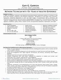 Network Engineer Resume Examples Awesome Cisco Network Engineer