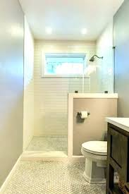 half wall shower enclosure half wall shower half wall shower pony wall shower glass great corner