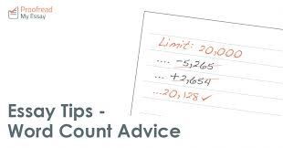 Essay On Advice Essay Tips Word Count Advice Proofread My Essay