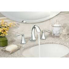 Bathroom Faucet Moen Eva Double Handle Widespread Bathroom Faucet Reviews Wayfair