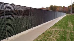 black chain link fence with privacy slats. Simple Link Photo For Chain Link Fence To Black With Privacy Slats L