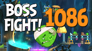 Angry Birds 2 Boss Fight 154! Chef Pig Level 1086 Walkthrough ...