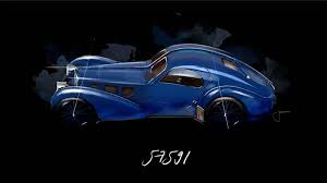The atlantic name was termed in honour of jean bugatti's pilot friend, jean mermoz, who never returned from a south atlantic aviation journey. 1938 Bugatti Type 57sc Atlantic Chassis 57591