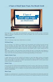 Types Avoid Email 6 You Spam Of Should Traps F0SSxwq