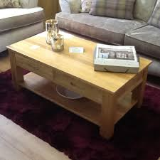 malvern oak coffee table ex display