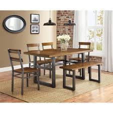 Kitchen Tables At Walmart Better Homes And Gardens Mercer Dining Table Walmart Regarding