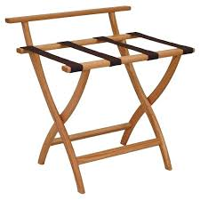 wood luggage rack wooden mallet wall saver contour leg luggage rack with backing reviews wood golf wood luggage rack