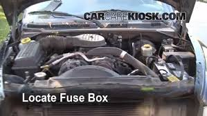 replace a fuse 1997 2004 dodge dakota 2001 dodge dakota sport replace a fuse 1997 2004 dodge dakota 2001 dodge dakota sport 4 7l v8 crew cab pickup 4 door