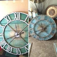 60 inch wall clock huge wall clocks large clock round decorative oversized extra large wall clocks