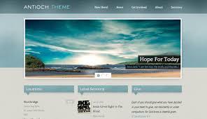 Free Church Website Templates Impressive Church Website Templates For Sale Spacerchaser