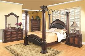 design of bed furniture. Traditional Bedroom Furniture A Poster Bed Is Solid Piece Of That Really Grounds . Design