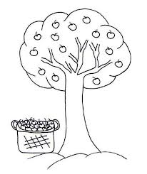 Small Picture Apple tree coloring pages ColoringStar
