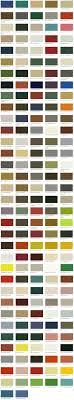 Standard Case And Bumper Color Selection Hussmann Corporation