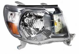 2005-2011 Toyota Tacoma Headlamps/Headlights Assembly Black (TAC ...