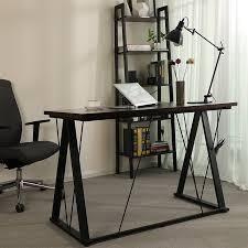 Home office study Formal Wayfair Rebrilliant Evenson Home Office Study Workstation Desk Wayfair