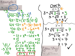 solving square root other radical equations example 3 math algebra 2 showme