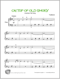 sheet music for kids the songs we sing kids songs and nursery rhymes directory