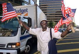 photos of and the days after jeremy hodgkins hands out american flags to drivers in washington d c 13 2001