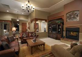 Living Room Classic Design Rustic Living Room Design With Heating In The Black Box Mirror