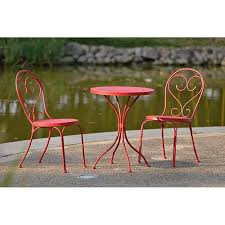 space scroll outdoor bistro set