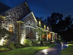 Landscape Lighting Ideas - Exterior spot lights