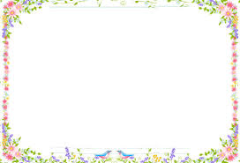 spring flowers border clipart. Perfect Border And Spring Flowers Border Clipart