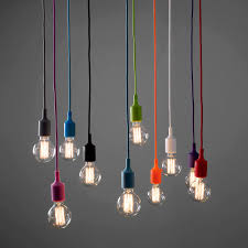 epic coloured cord pendant lights about remodel retractable