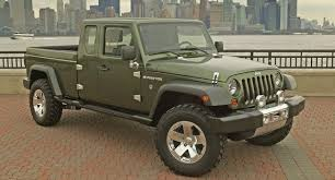 when the next generation jeep wrangler is released in late 2018 a pickup truck version will be available in addition to the clic two door and four door