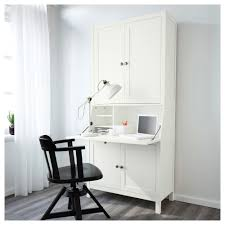 ikea hemnes bureau with add on unit solid wood is a durable natural material