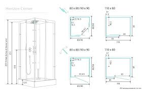 excellent awesome door dimensions glass shower image standard size gender neutral bathrooms si