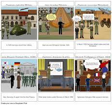 Road to WW2 - Tenia Williams - Period 6 Storyboard