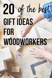 woodworker on workbench with text overlay