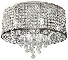 crystal flush mount chandelier 7 light round chrome crystal flush mount chandelier pendant light black and