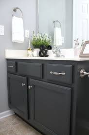 Painted Bathroom Countertops Best 25 Paint Bathroom Cabinets Ideas On Pinterest Painted